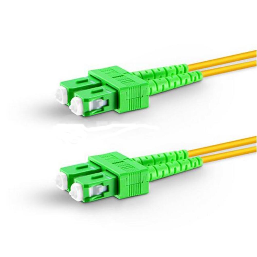 Fo Connectivity Fiber Optics Copper Networks Audio Visual Pc Wiring Optic Cable Including Single Mode Sc Apc To Duplex 20mm Pvc Ofnr